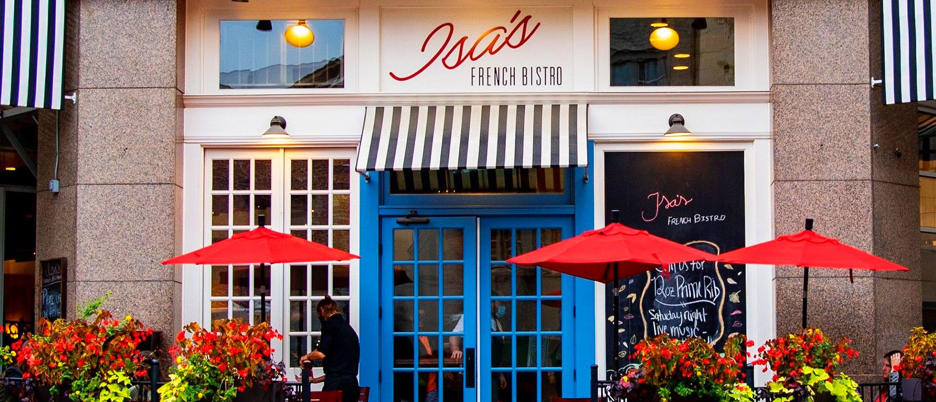 Isa's French Bistro Restaurant, Asheville